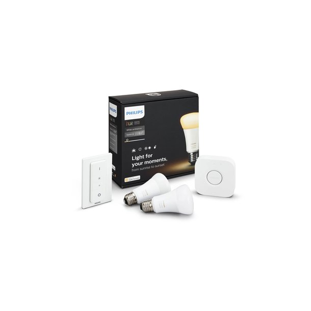 Philips Hue White Ambiance starter Kit E27